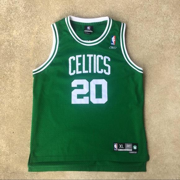 online store a96e9 25dea Reebok Boston Celtics Gary Payton 20 Youth Jersey